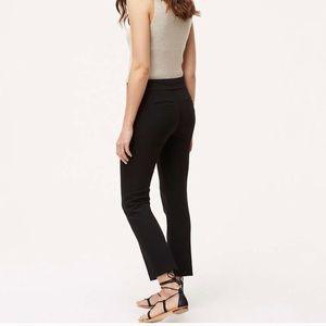 LOFT Ann Taylor Marisa fit pants solid black 6